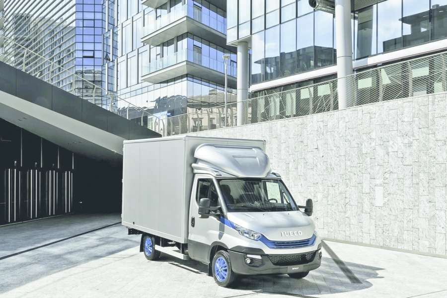 Der Daily Blue Power Bild: Iveco